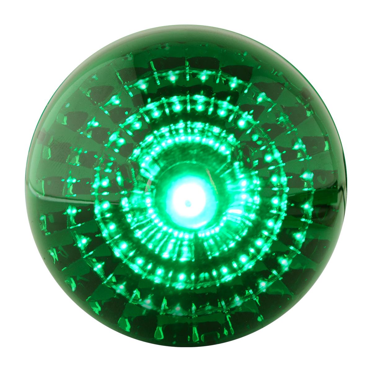 "78492 2"" Beehive Spyder LED Marker Light in Green/Green"