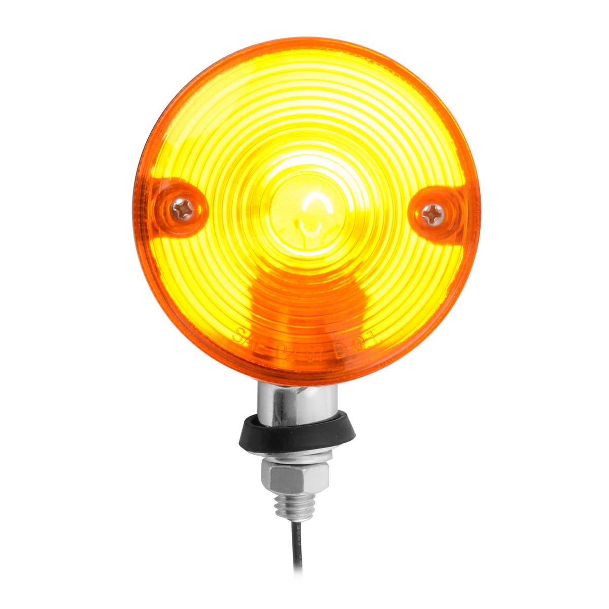 #84340 Single Face Auxiliary Marker Amber Light