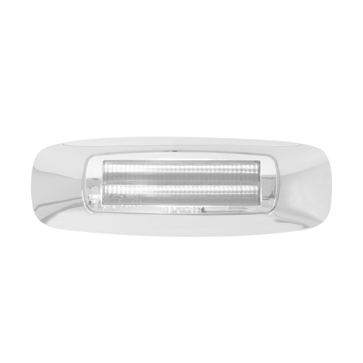 """74831 4-5/8"""" Rectangular Prime LED Marker Light in Amber/Clear"""