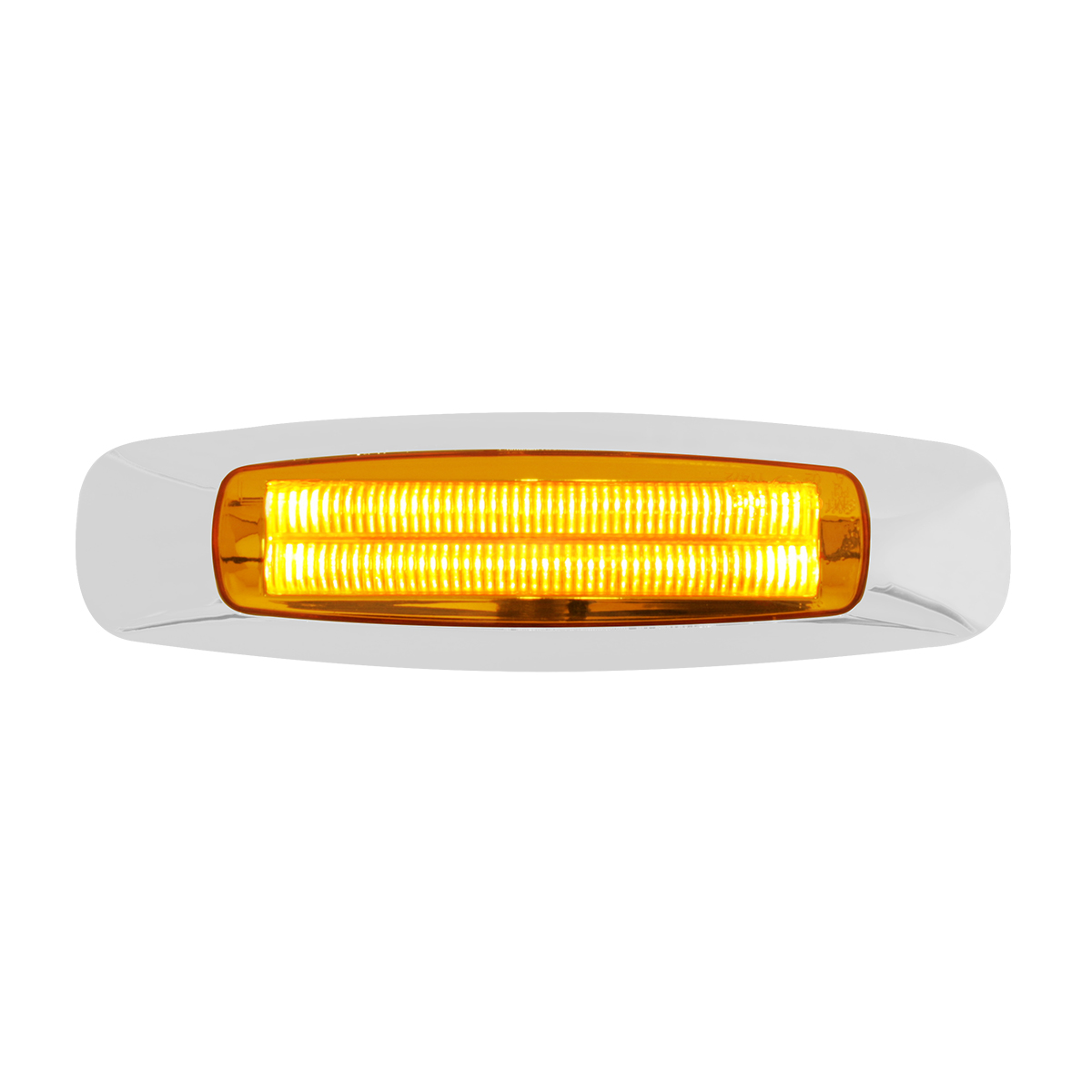 "74840 5-3/4"" Rectangular Prime LED Marker Light in Amber/Amber"