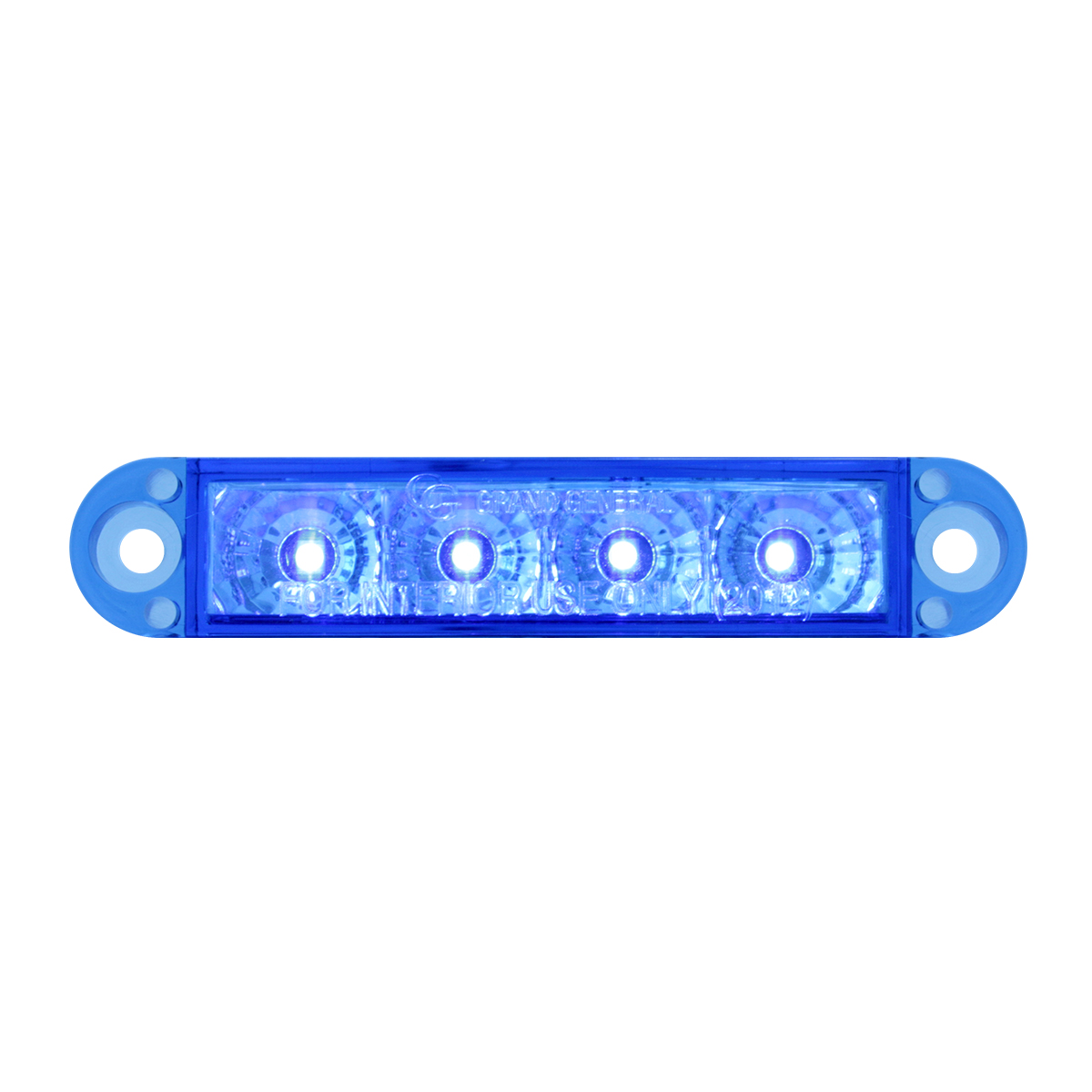 "76075 3.5"" Dual Function LED Light in Blue/Blue"