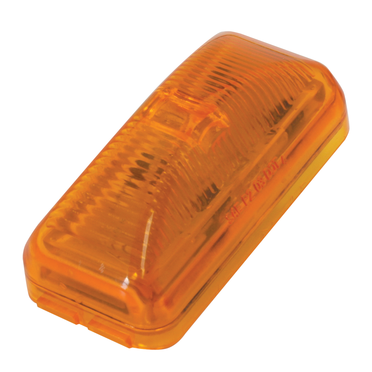 76410 Small Rect Fleet LED Light in Amber/Amber
