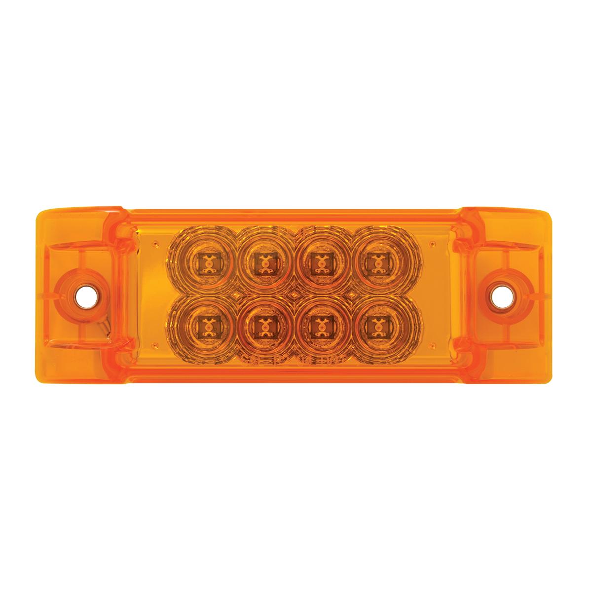 77660 Rectangular Spyder LED Marker Light in Amber/Amber