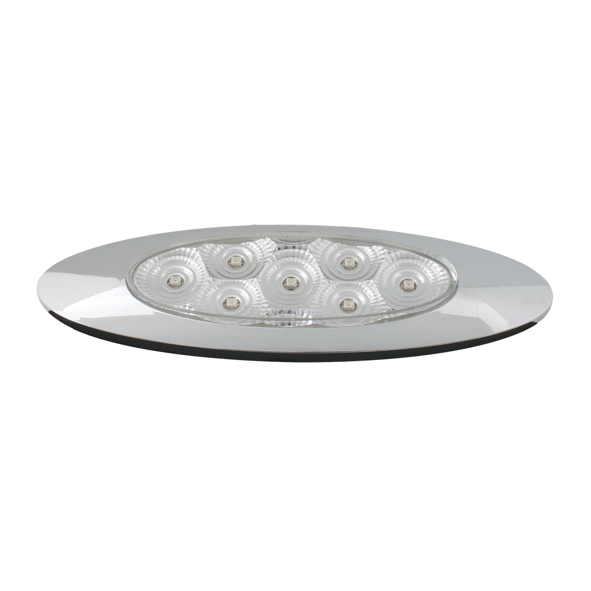 Ultra Thin Y2K Spyder LED Light in Clear Lens