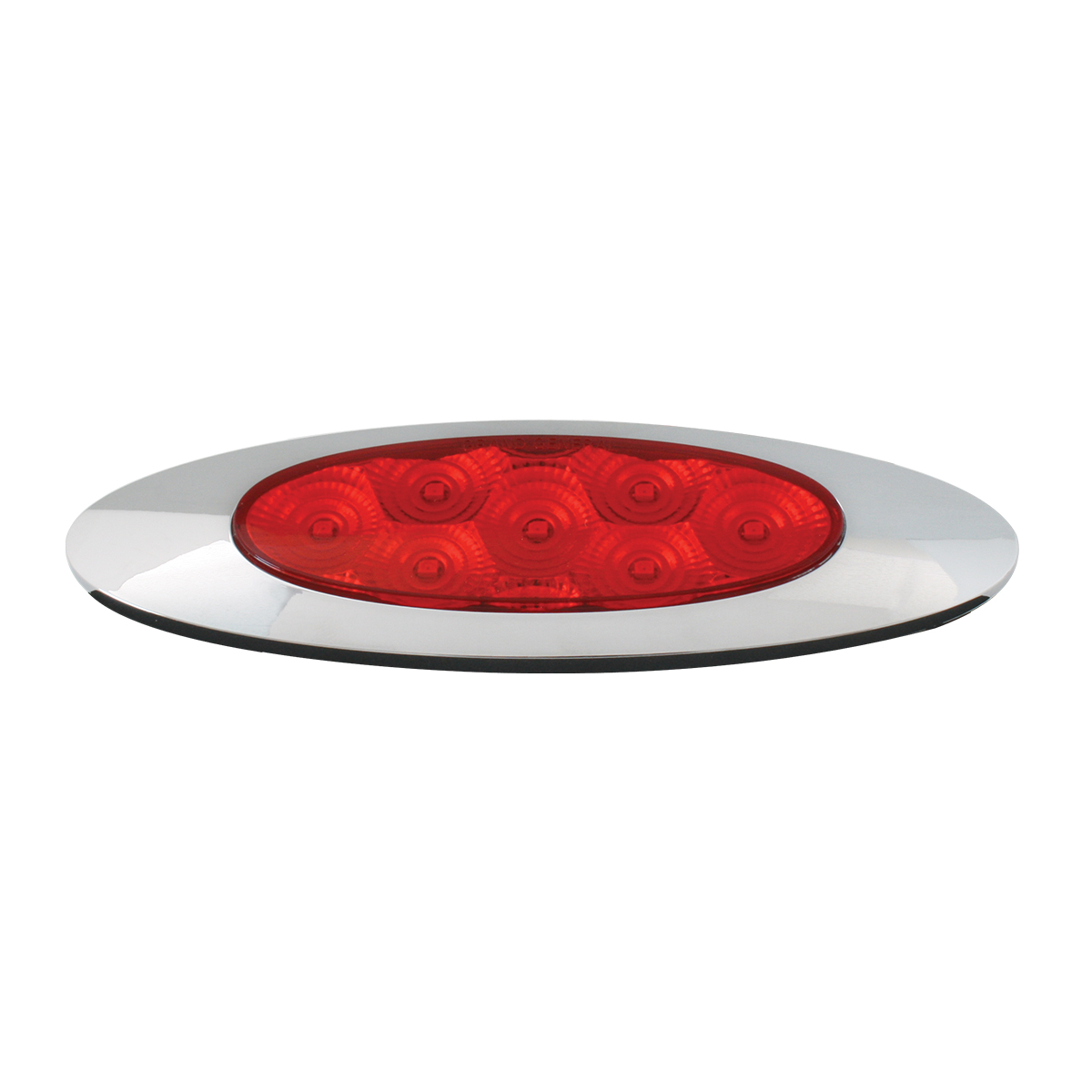 Ultra Thin Y2K Spyder LED Light in Red/Red