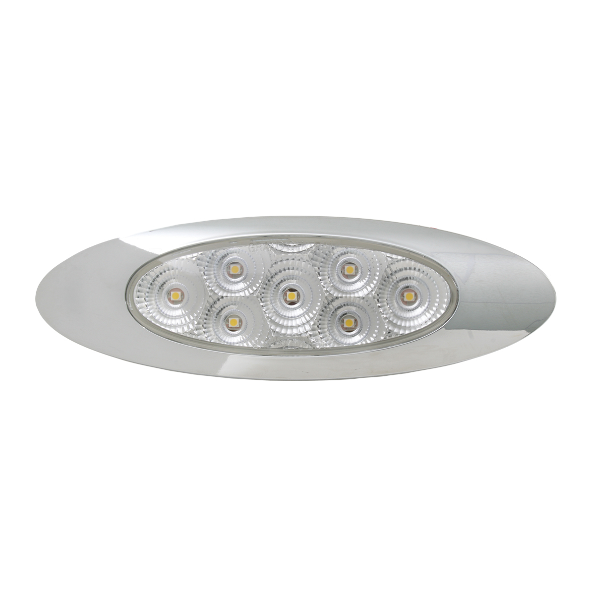 Ultra Thin Y2K Spyder LED Light in Clear Lens