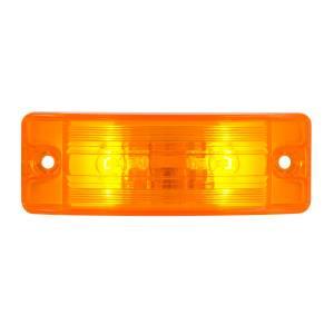 Turtle Style Rectangular Sealed Marker Lights