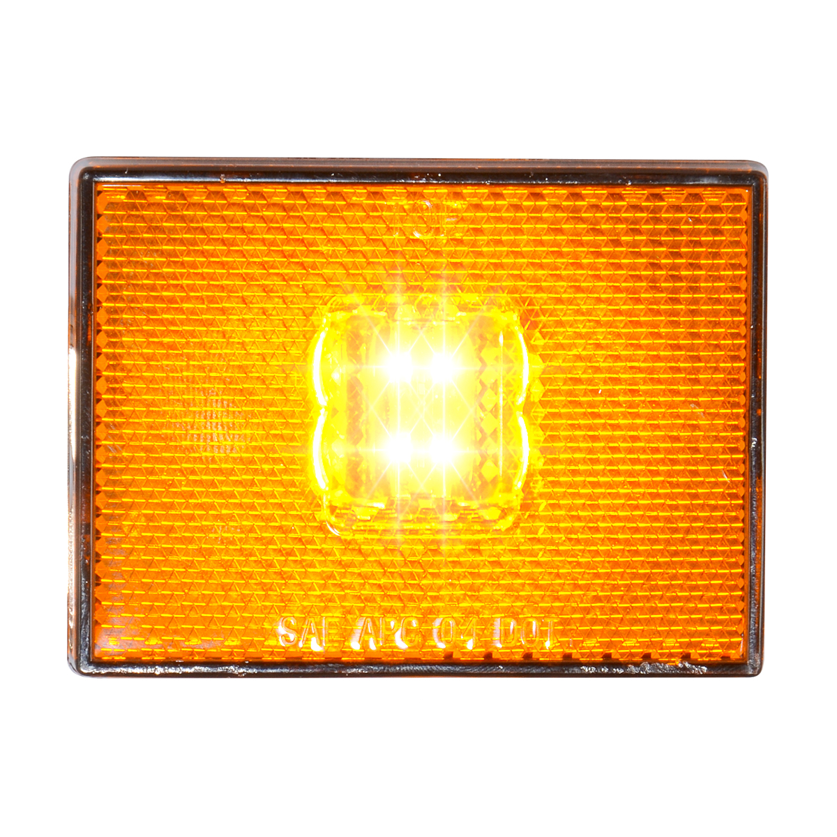 78380 Rectangular Stud Mount LED Light w/ Reflector