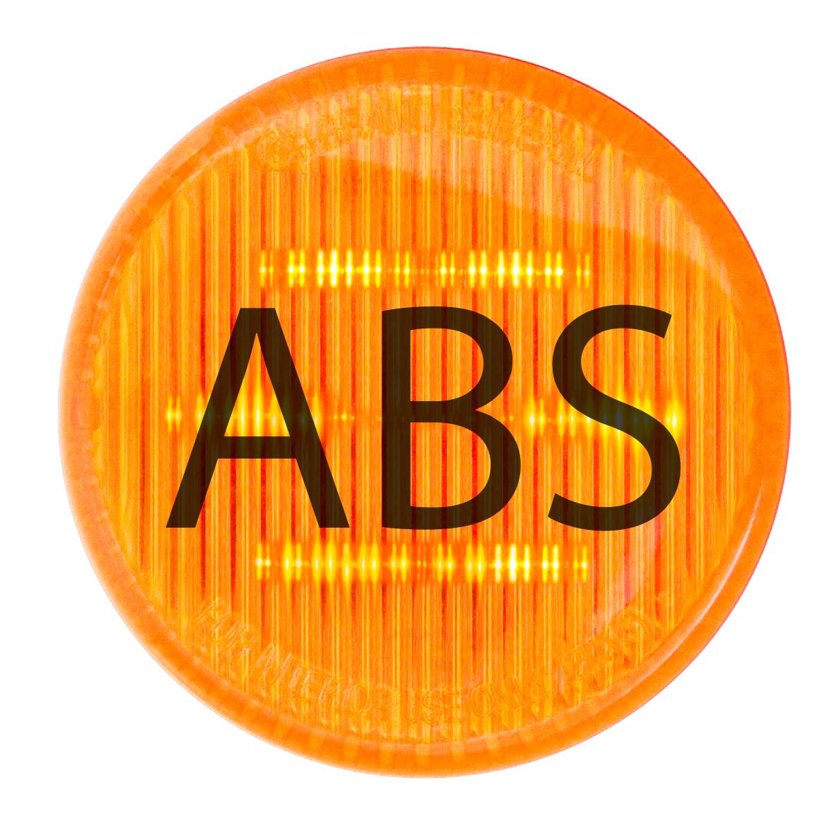 79286 ABS Logo Amber LED Marker Light