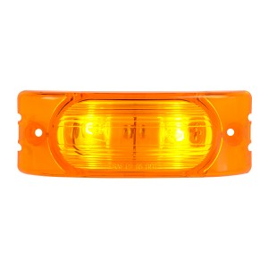 Oblong Rectangular Two-Bulb Marker Light