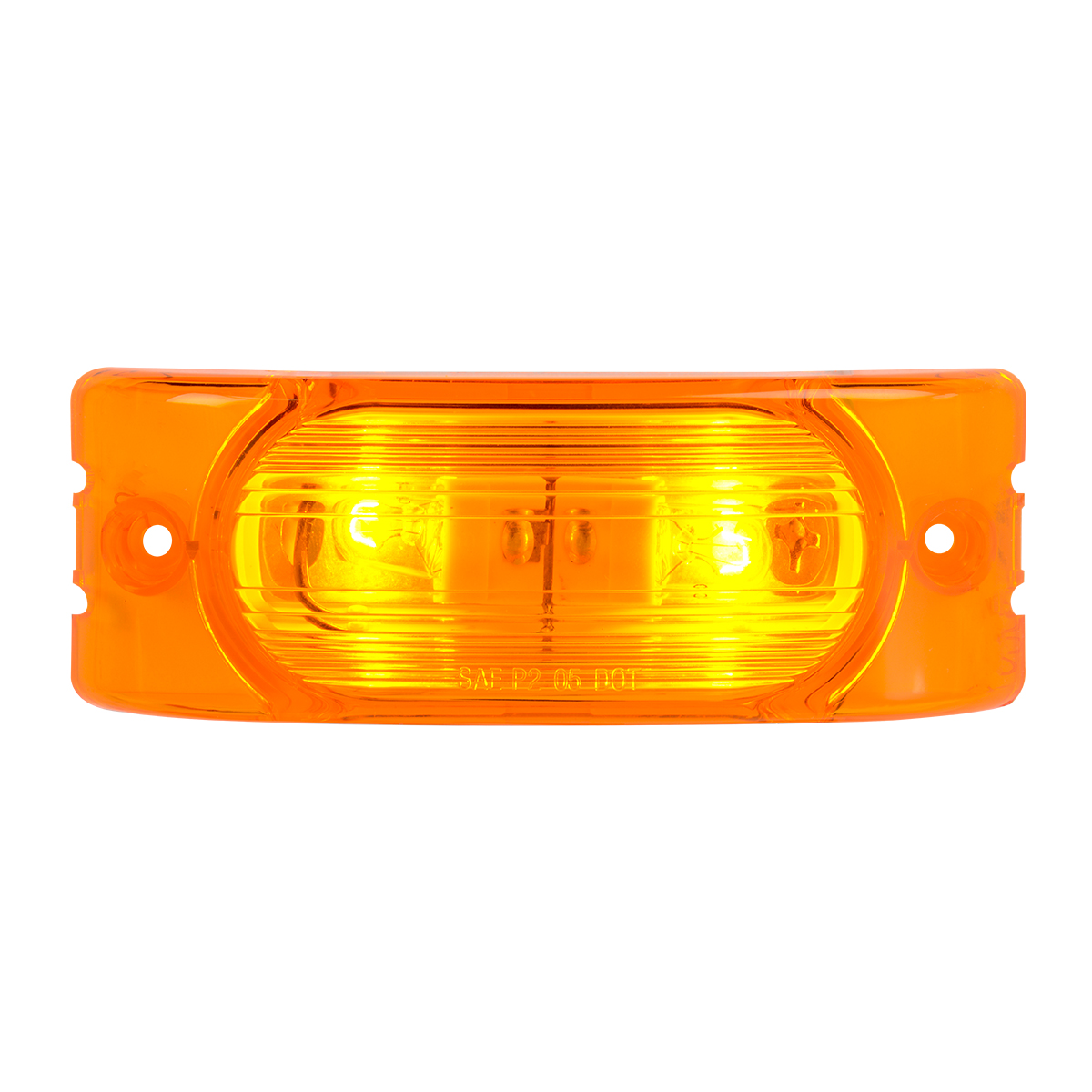 80191 Oblong Rectangular Two-Bulb Marker Light