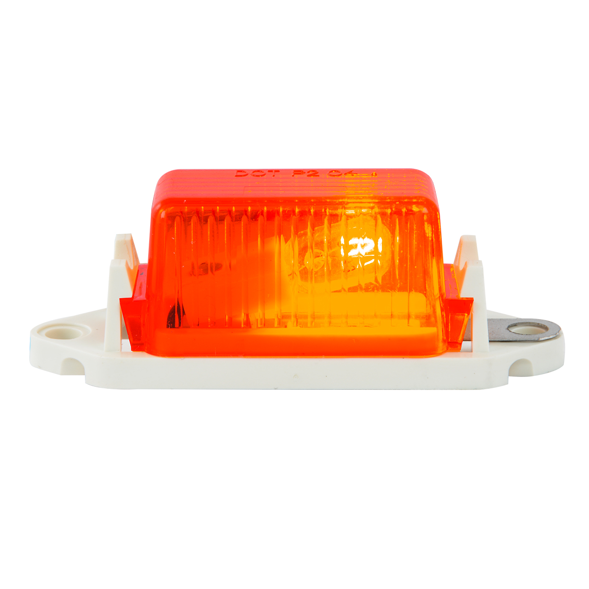 #80254 - Red Marker Light with White Base