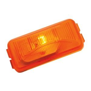 Small Rectangular Single Bulb Sealed Marker Light