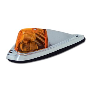 Pick-Up Cab Marker Light with Chrome Housing