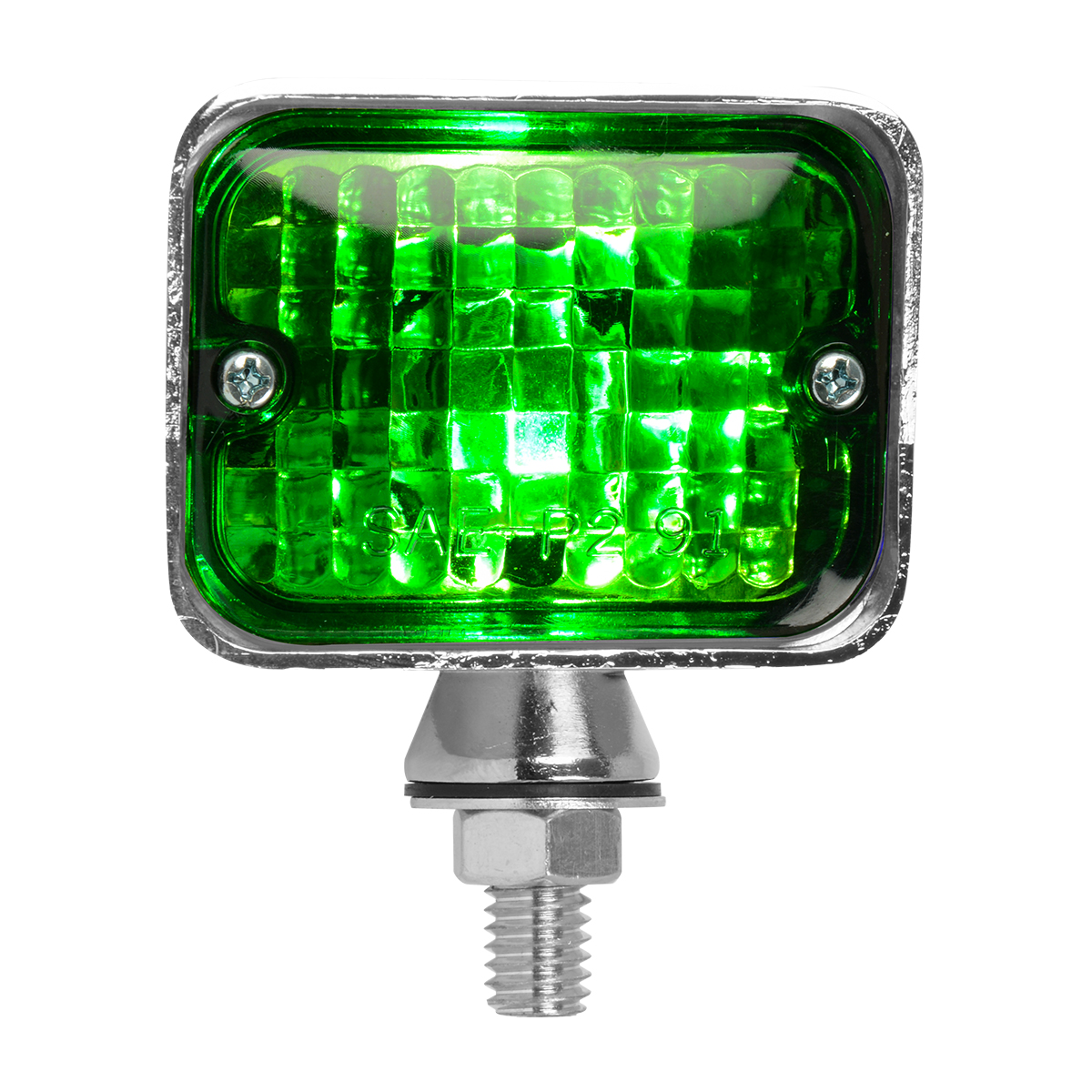 #80912 Large Double Filament Green Light