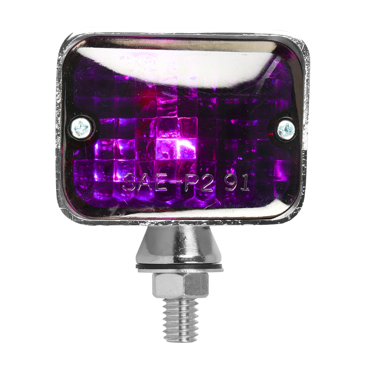 #80913 Large Double Filament Purple Light