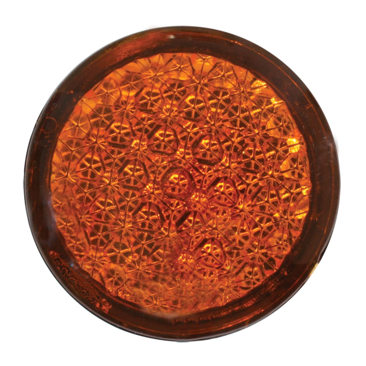 82310 Round Amber Reflective Stick-On Auxiliary Light