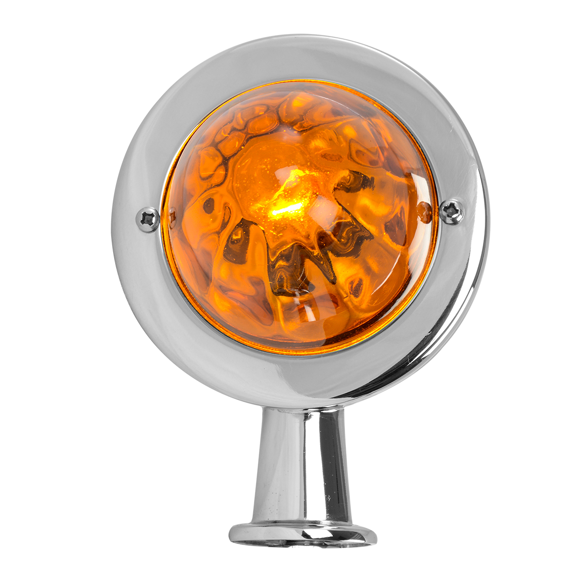 #84100 Honda Light with Amber Glass Lens - Front View