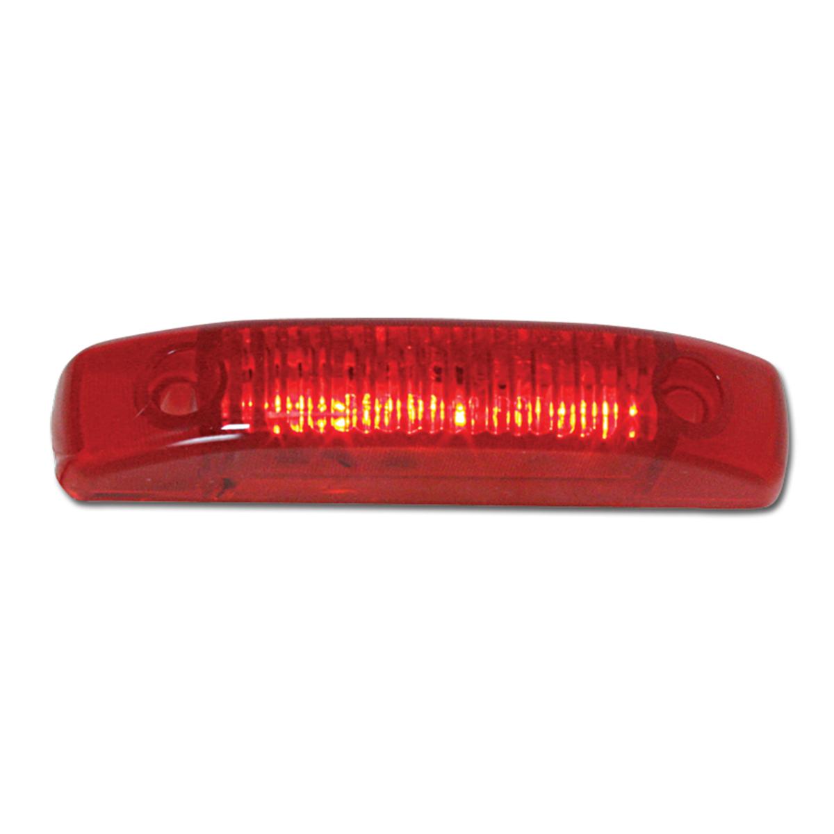 87525 Medium Thin Line LED Marker Light in Red/Red