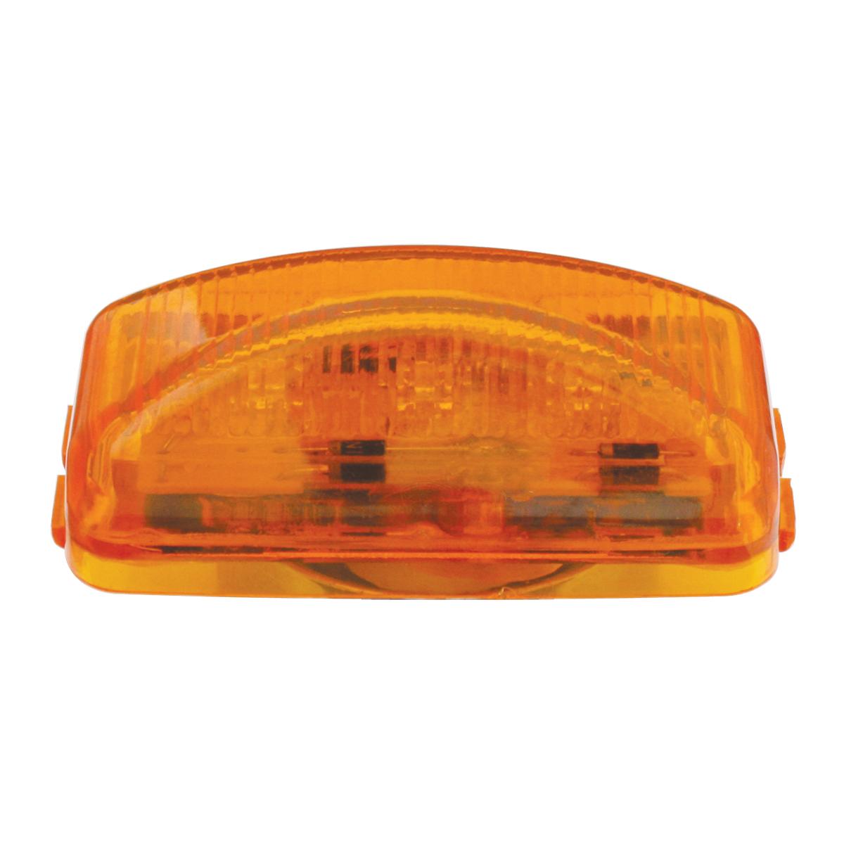 87640 Small Rectangular LED Marker Light in Amber/Amber
