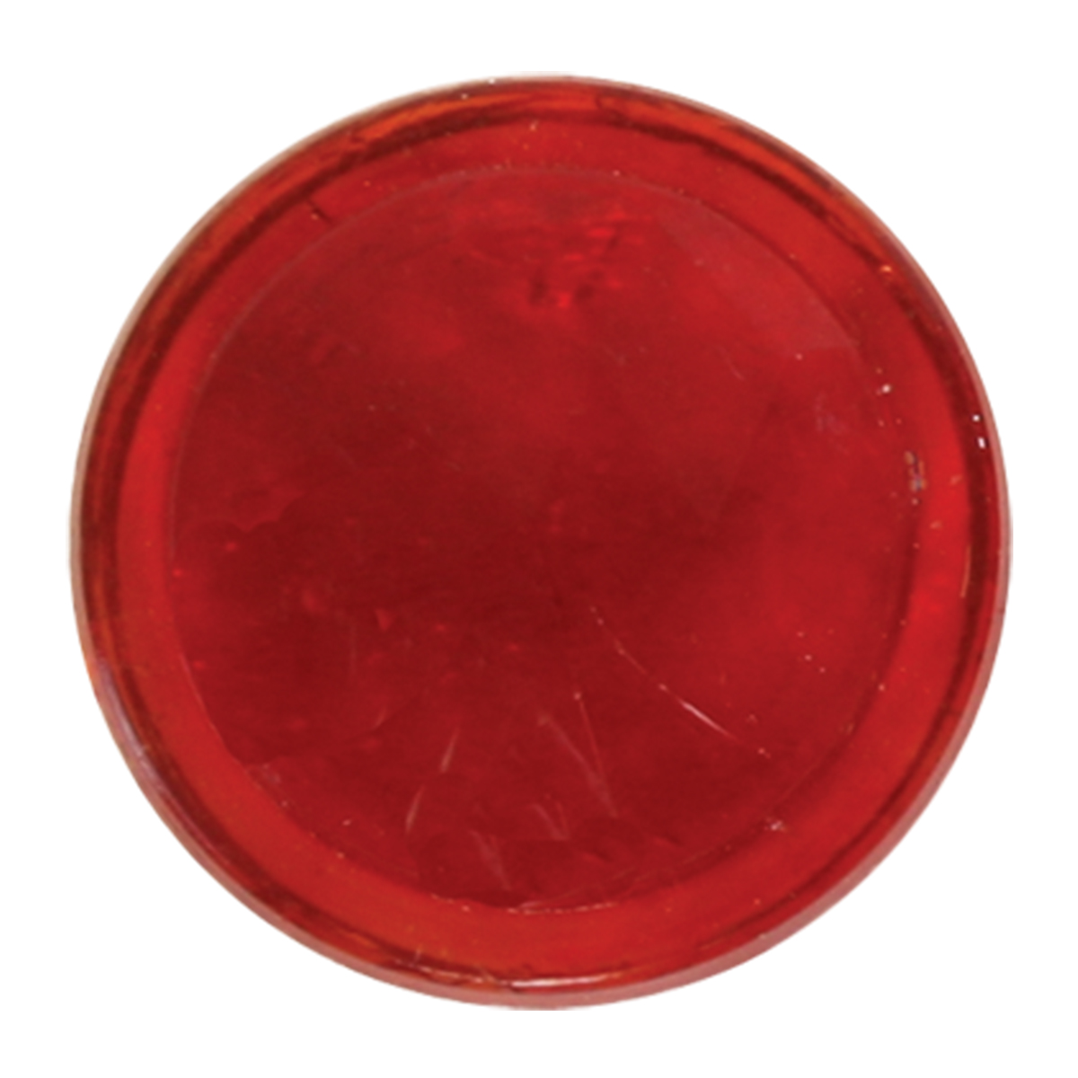 #50108 Red Glass Dot Only