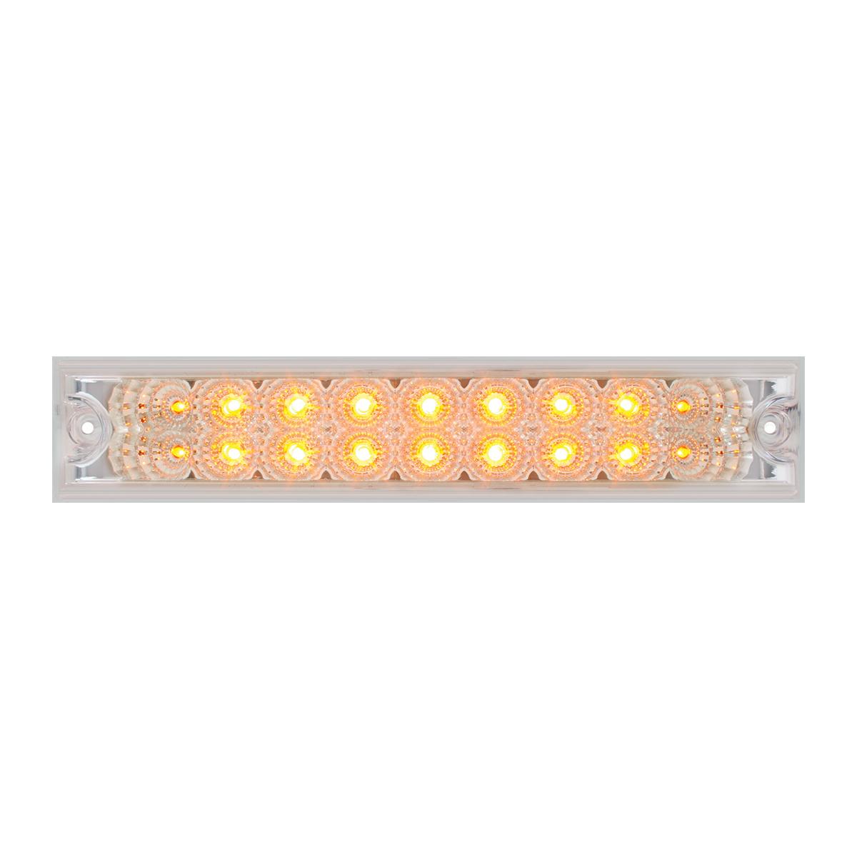 """76481 10"""" Spyder LED Light Bar in Clear Lens"""