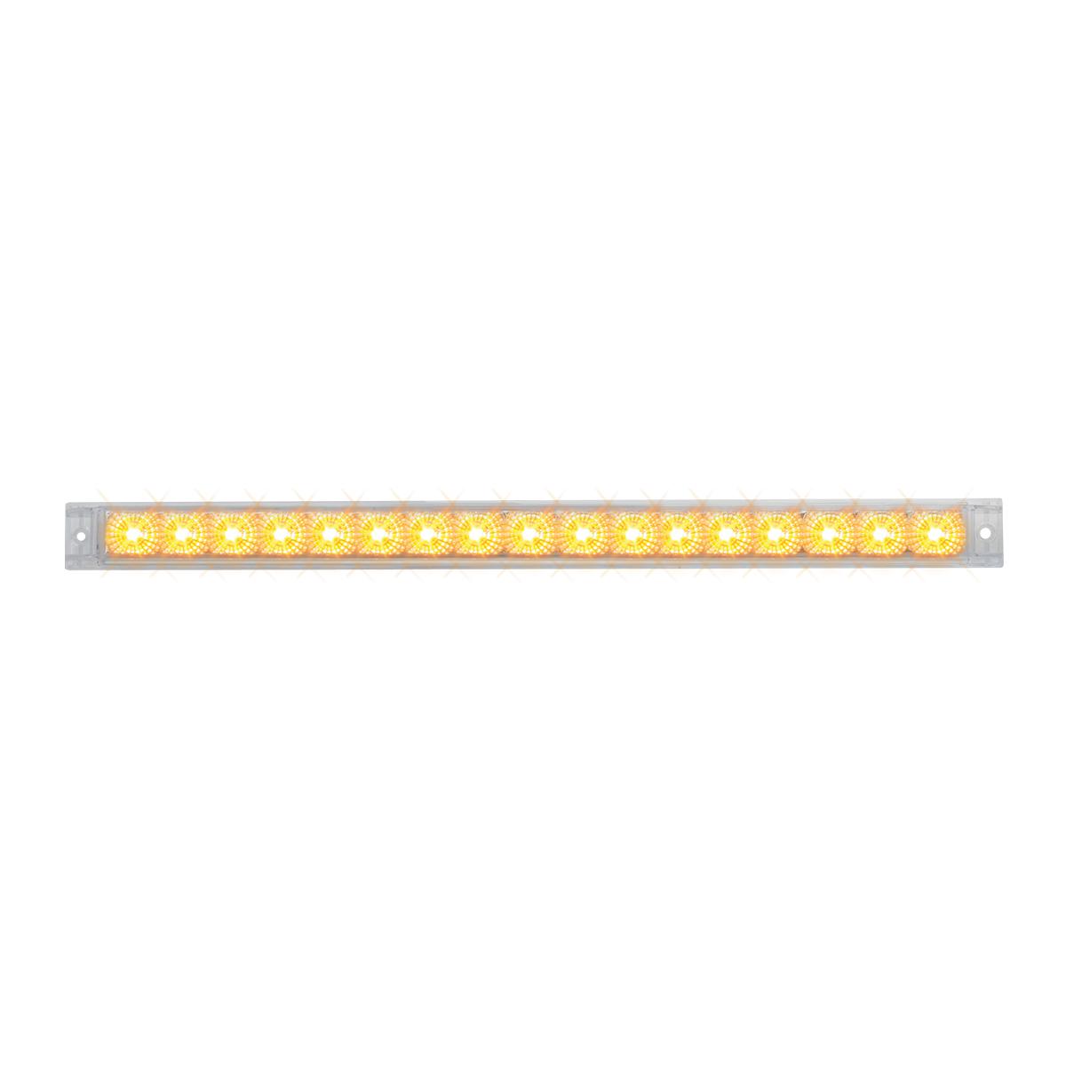 """76981 20"""" Spyder LED Light Bar in Clear Lens"""