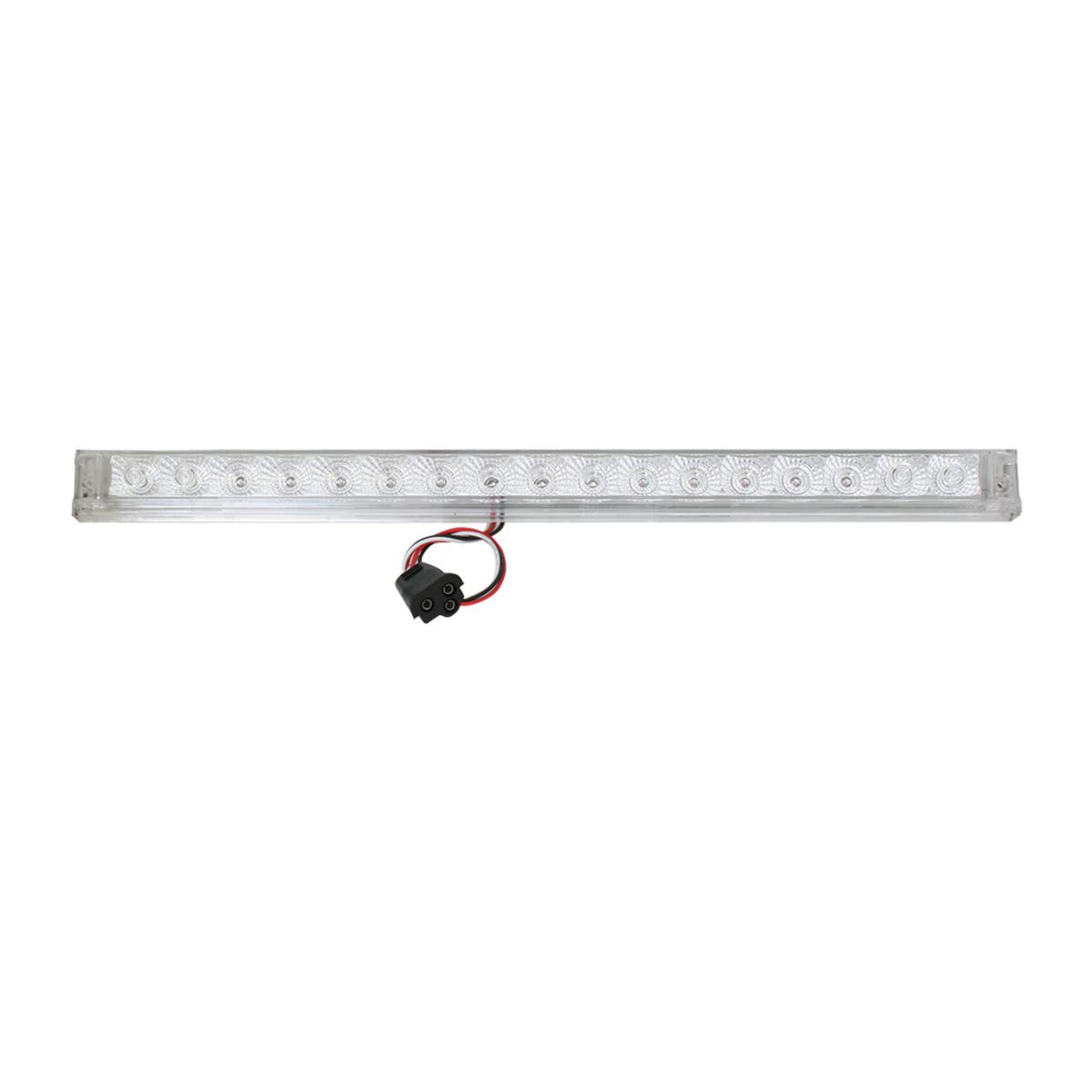 """20"""" Spyder LED Light Bar in Clear Lens"""