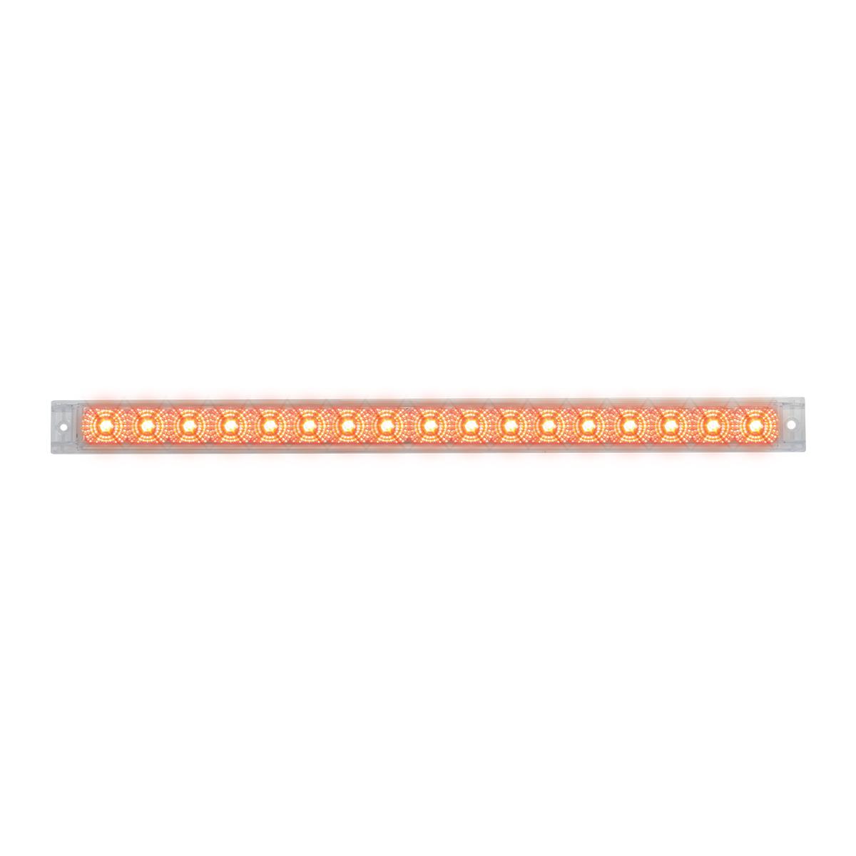 """76983 20"""" Spyder LED Light Bar in Clear Lens"""