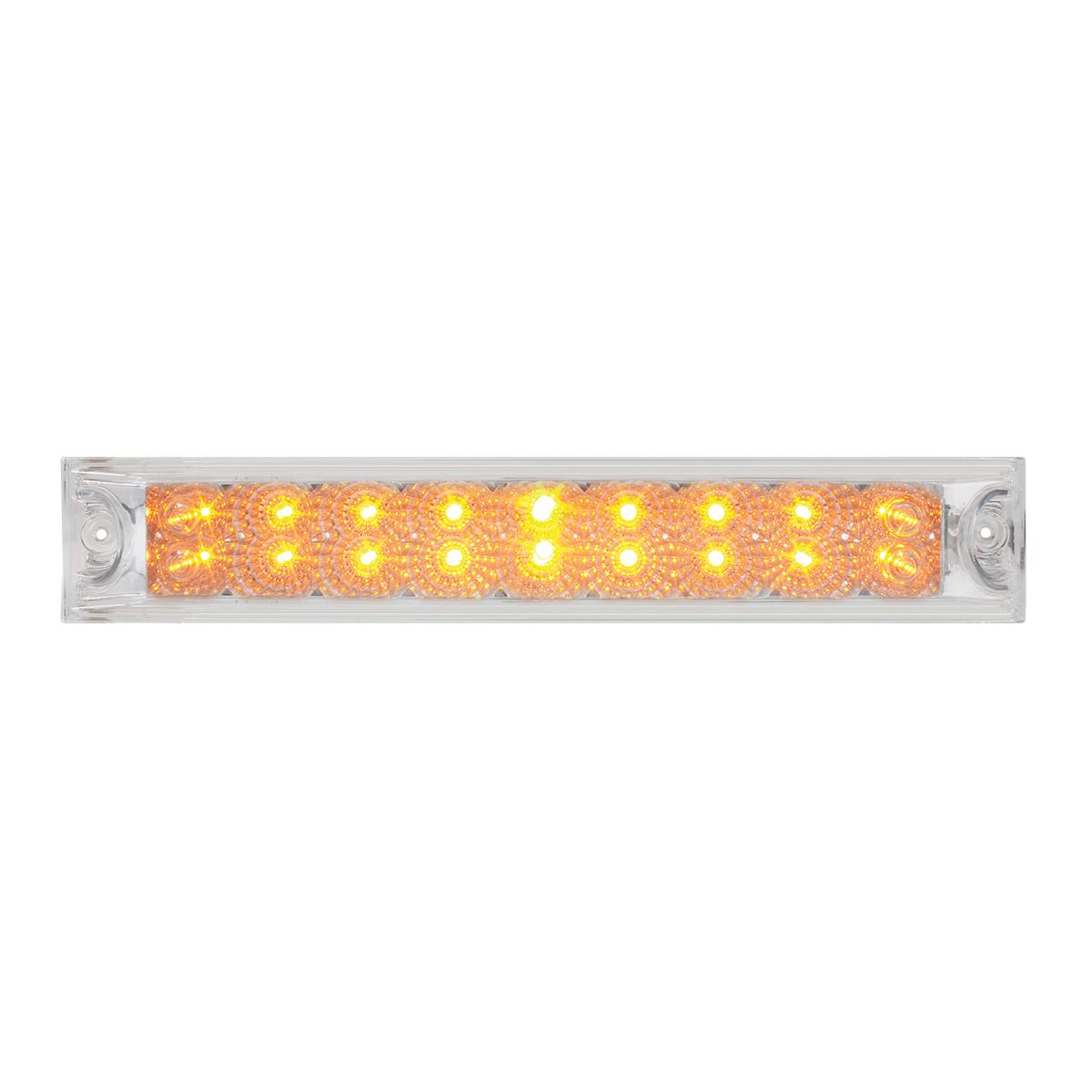 """76986 12"""" Spyder LED Light Bar in Clear Lens"""
