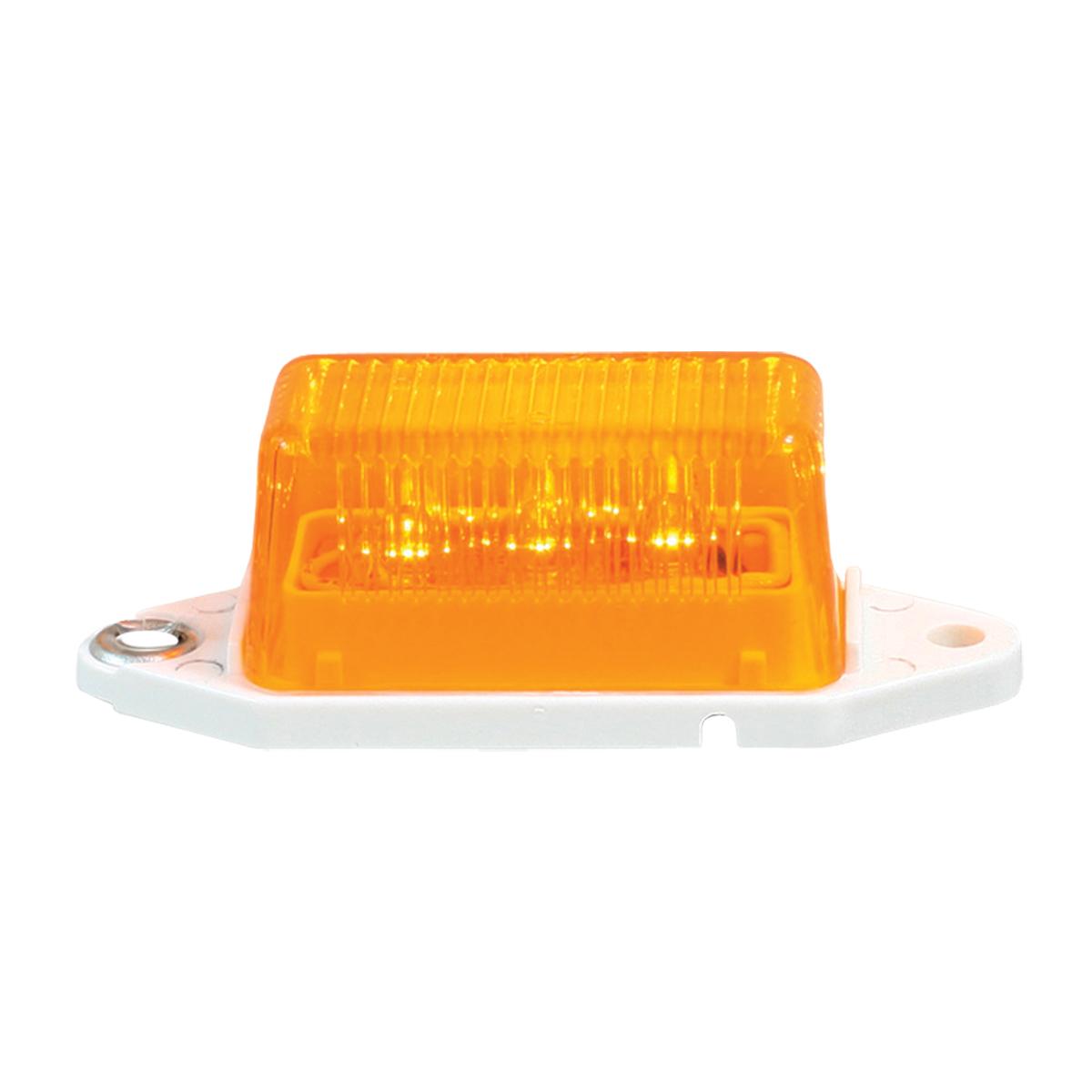 78370 Mini Rectangular LED Marker Light in Amber/Amber