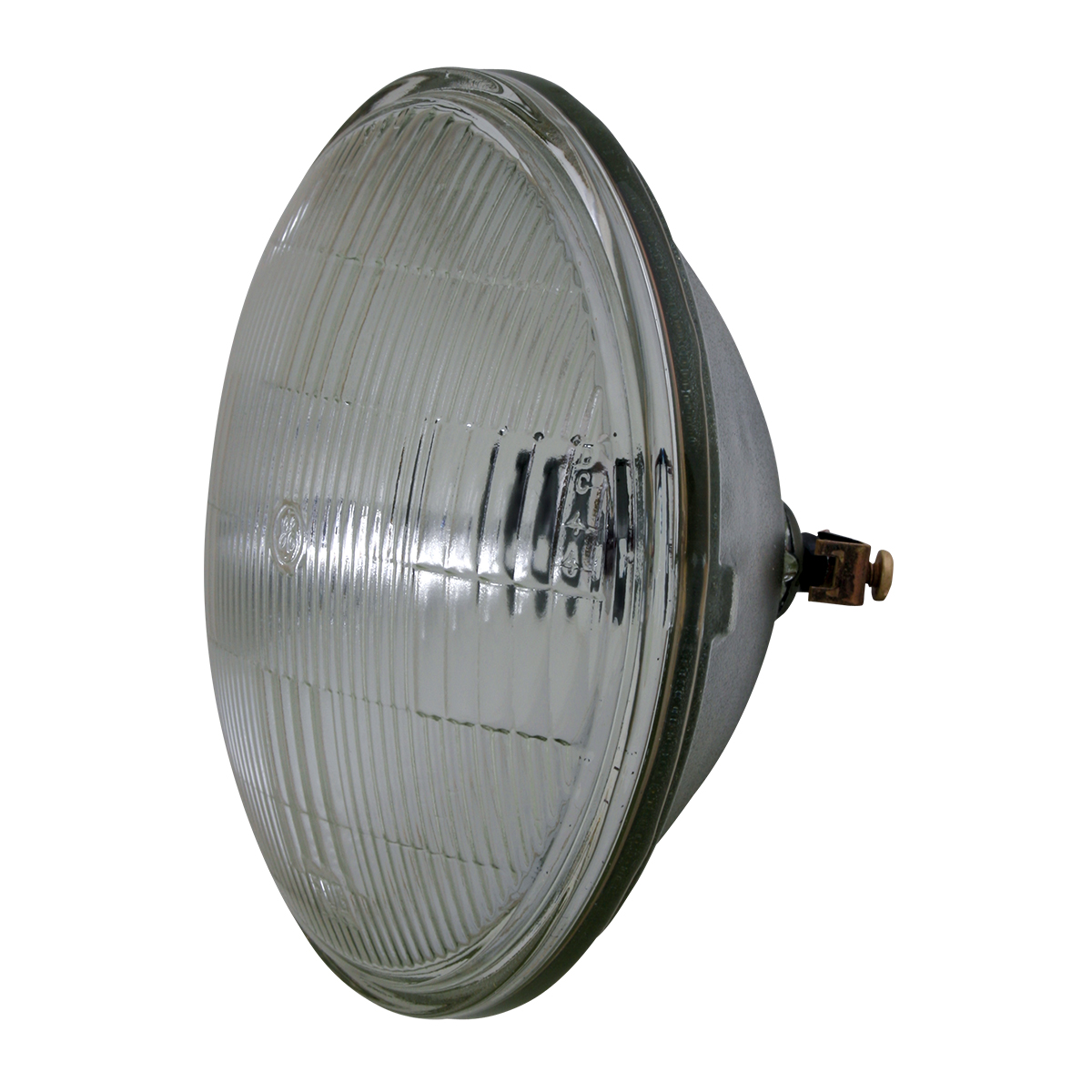 #80410 Round Sealed Beam #4412 Headlight - Side View