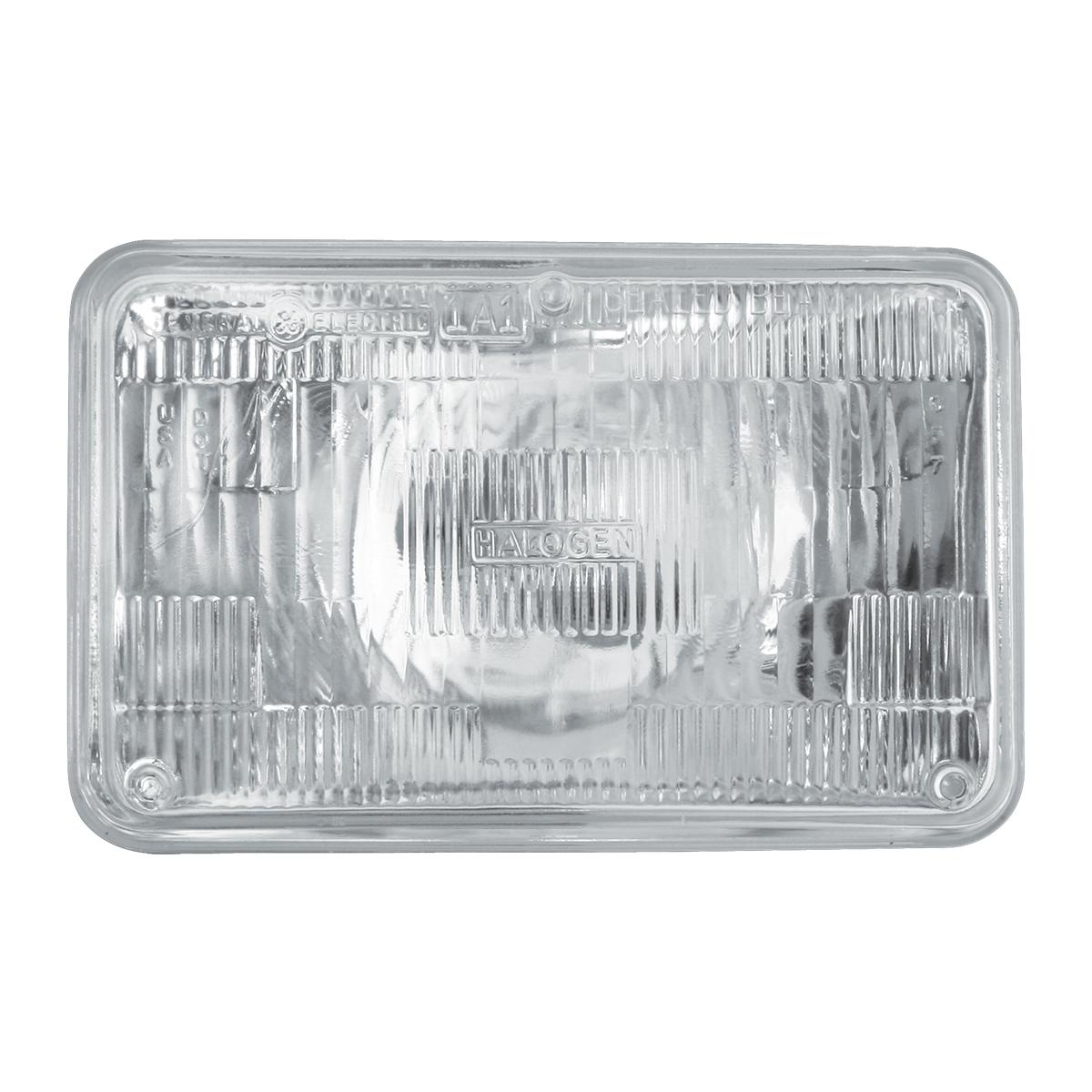 #80428 Rectangular Sealed Beam #H4651 Headlight - Clear