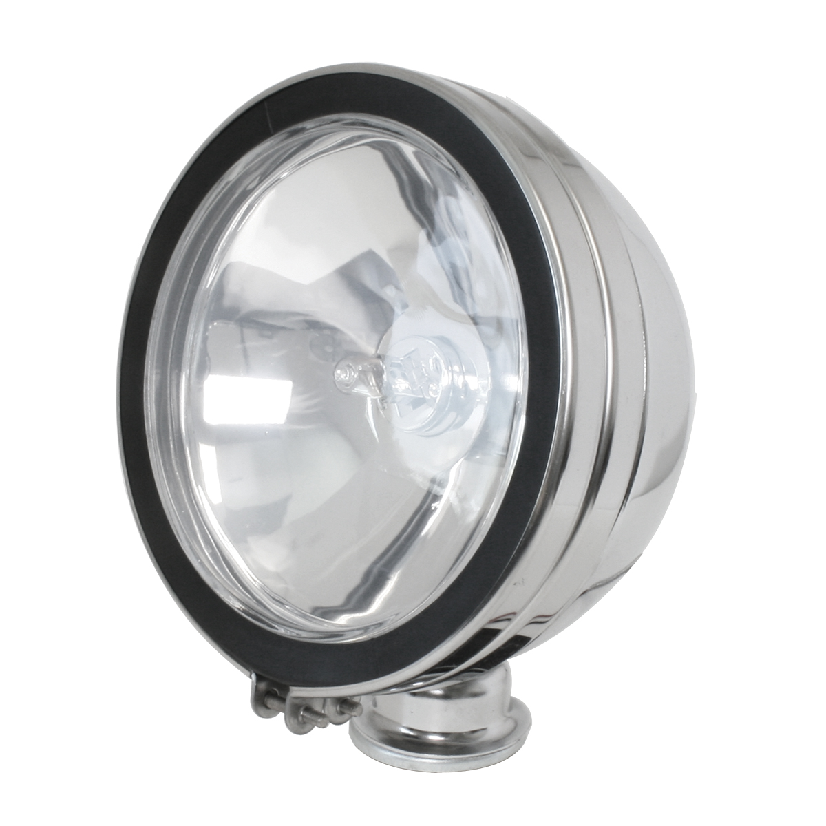 "#80620 6"" Chrome Plated Off-Road Light 55 Watts - Clear"