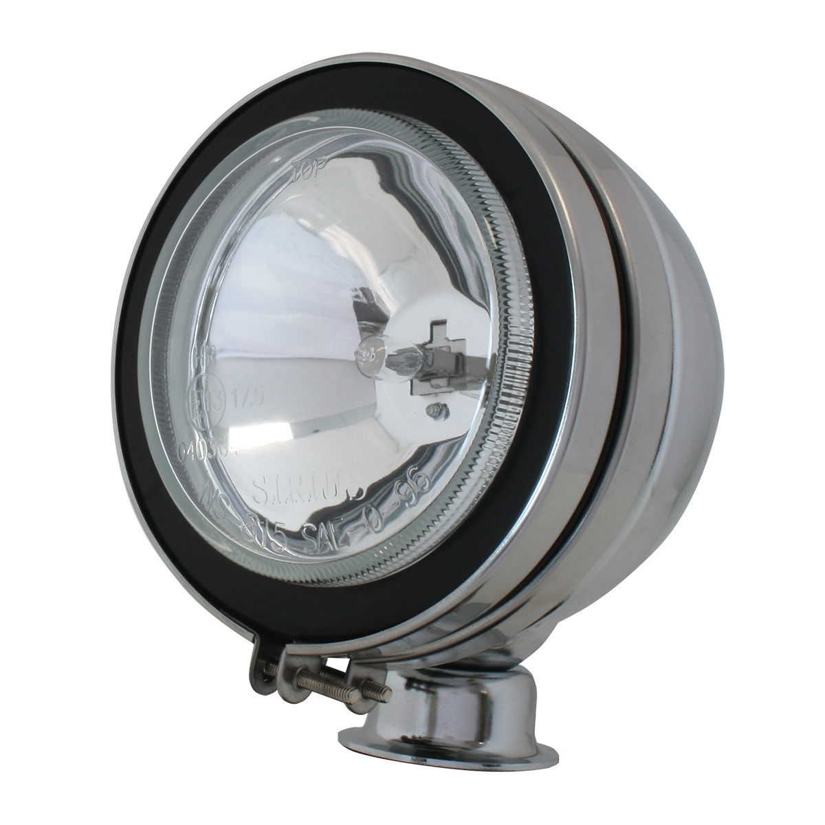 """#80632 5"""" Chrome Plated Off-Road Light 100 watts - Clear"""