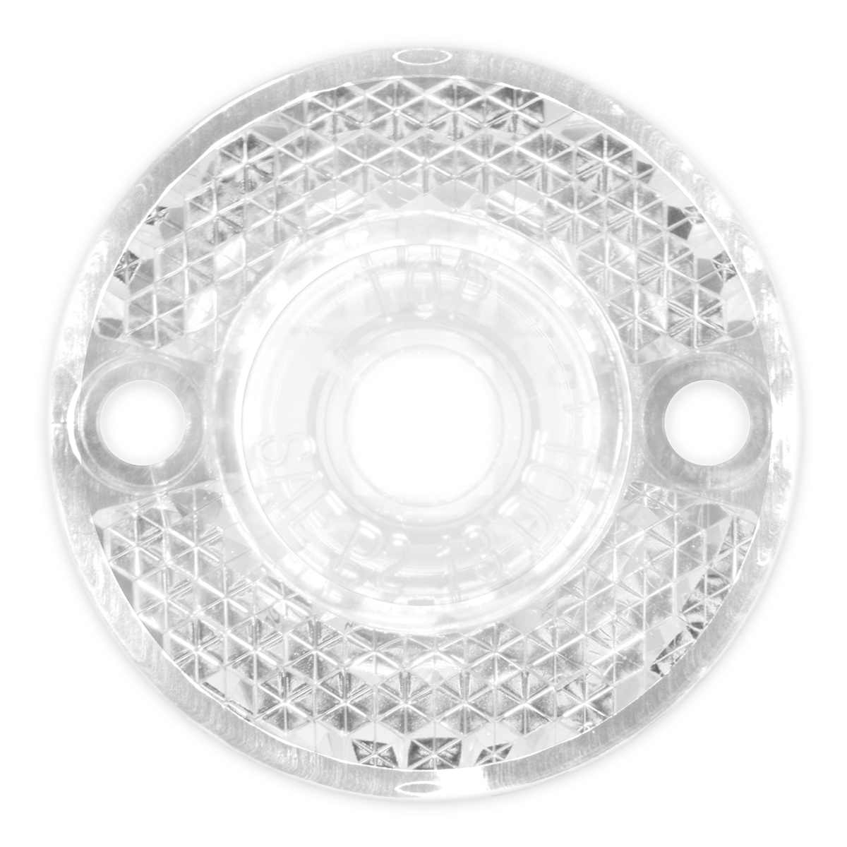 81784 Mini Surface Mount LED Light in White/Clear