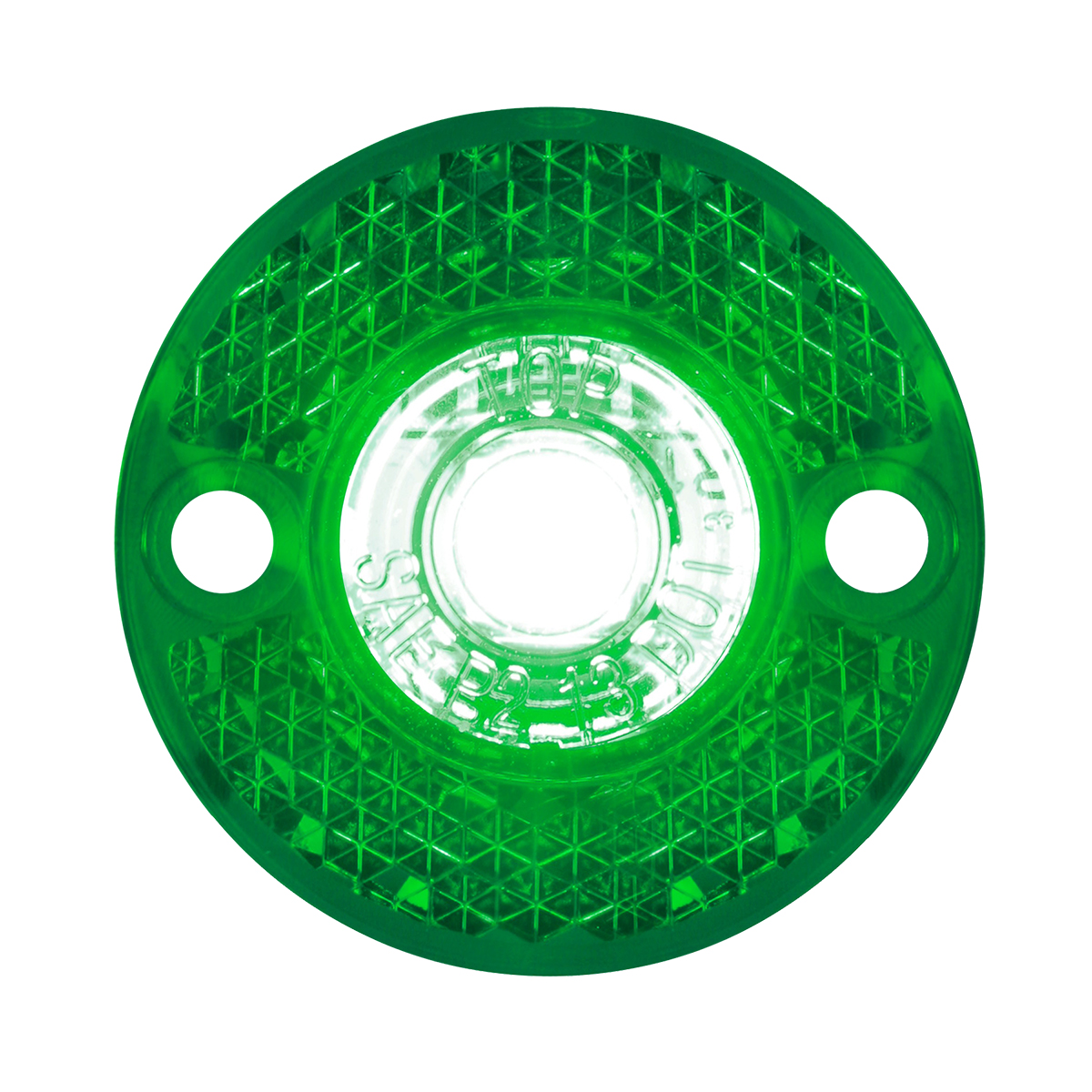 81786 Mini Surface Mount LED Light in Green/Green