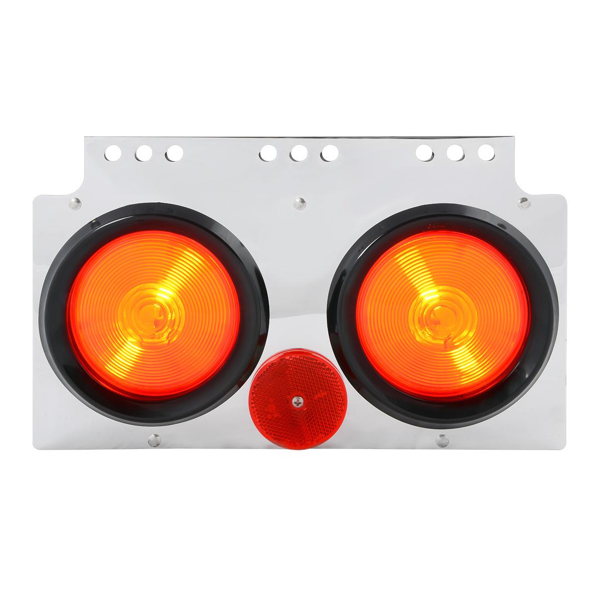 #84920 Regular Incandescent Chrome Steel Module Light Box