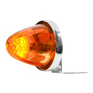 Beehive Glass LED Marker Light