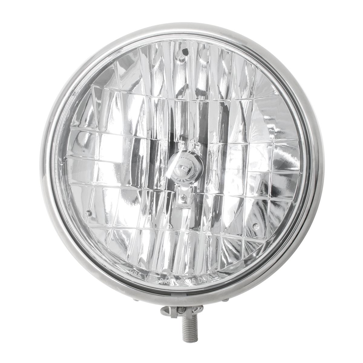 """#87730 Stainless Steel 9 ½"""" Headlight"""