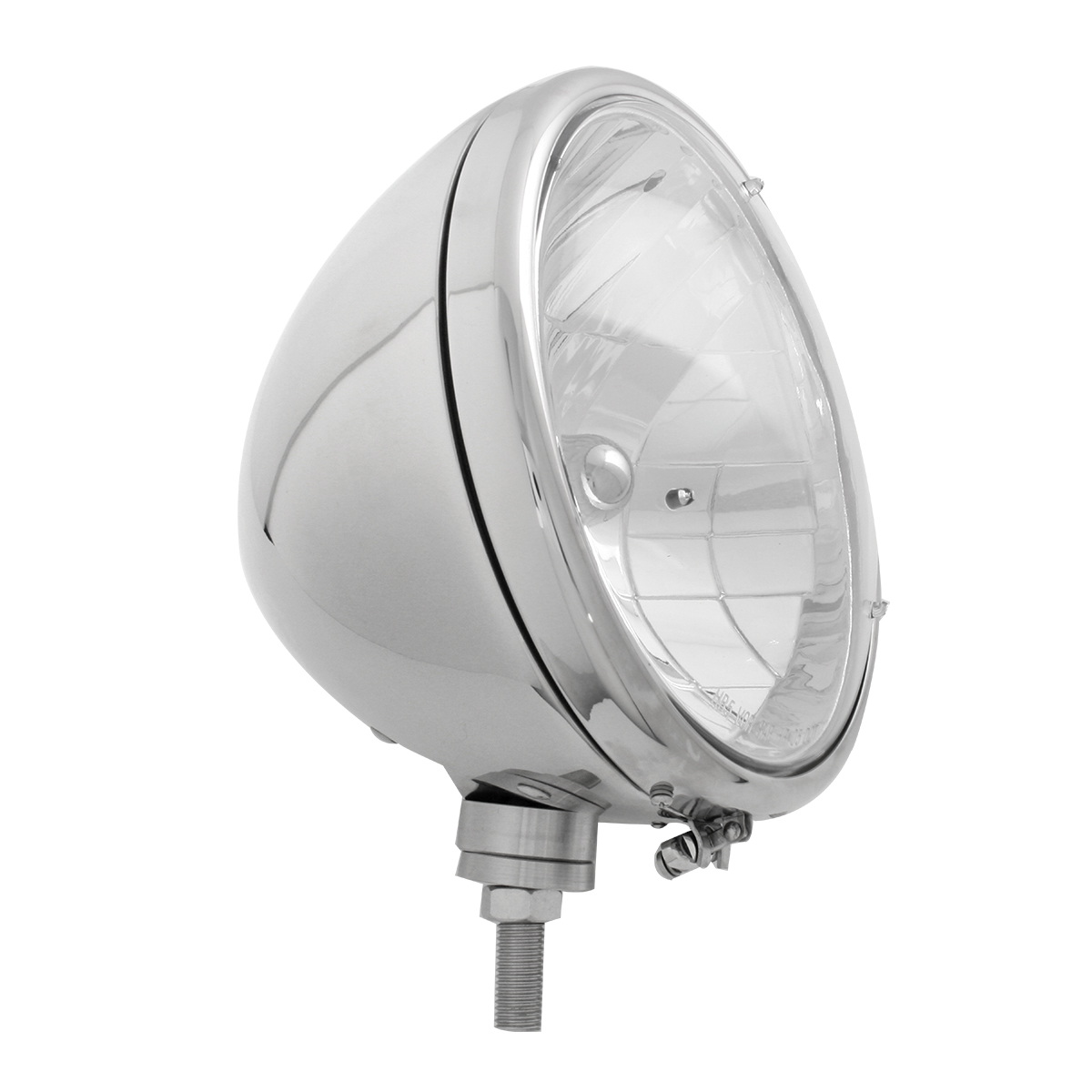 "#87730 Stainless Steel 9 ½"" Headlight - Side View"