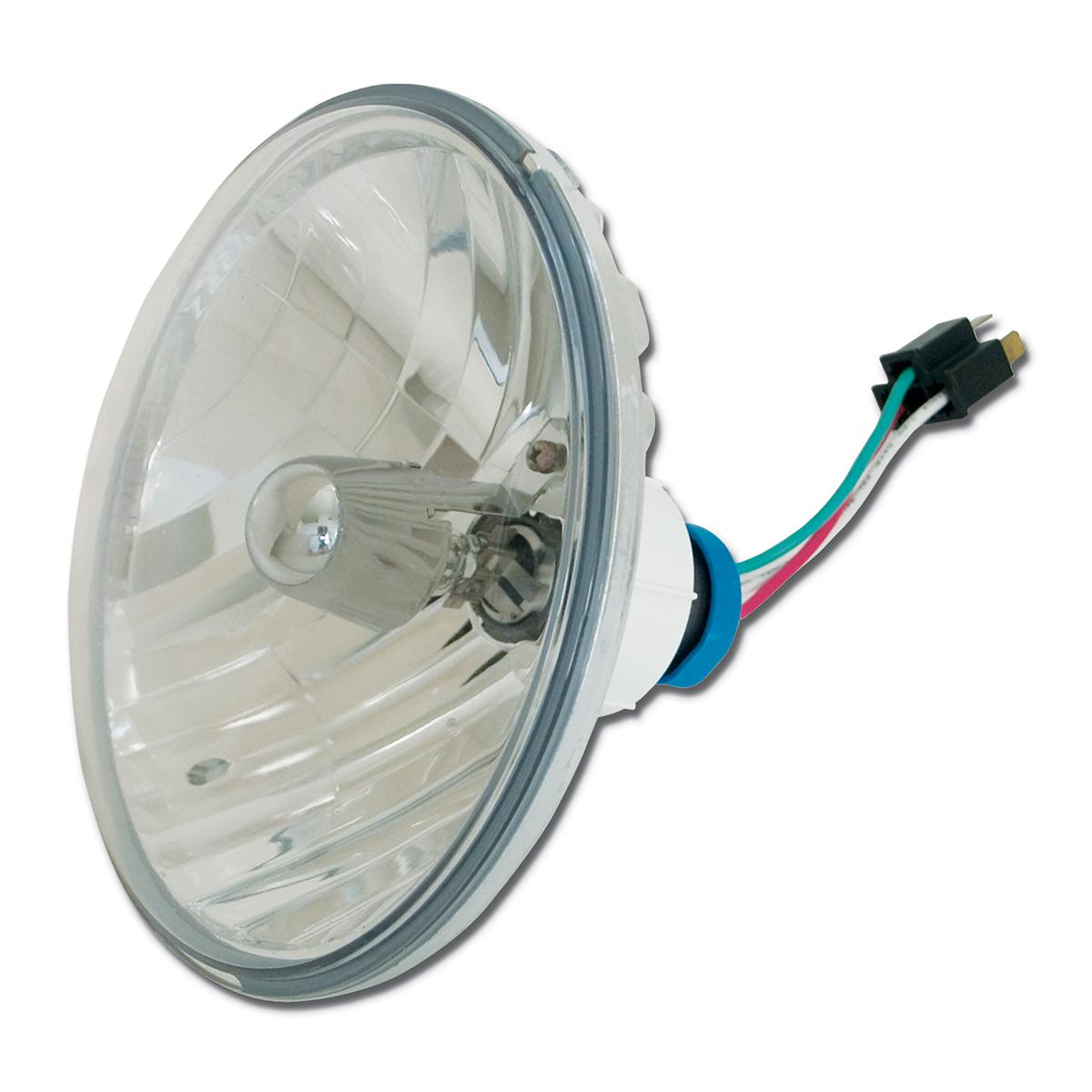 """#87738 8 ½"""" Round Complex Reflector Headlamp"""