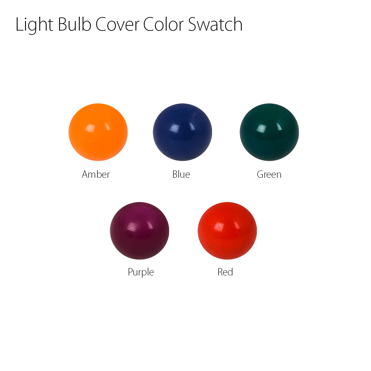 Large Bulb Cover Color Swatch