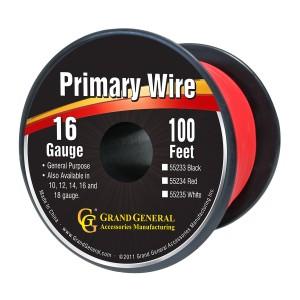Primary Wires in 16 Gauge