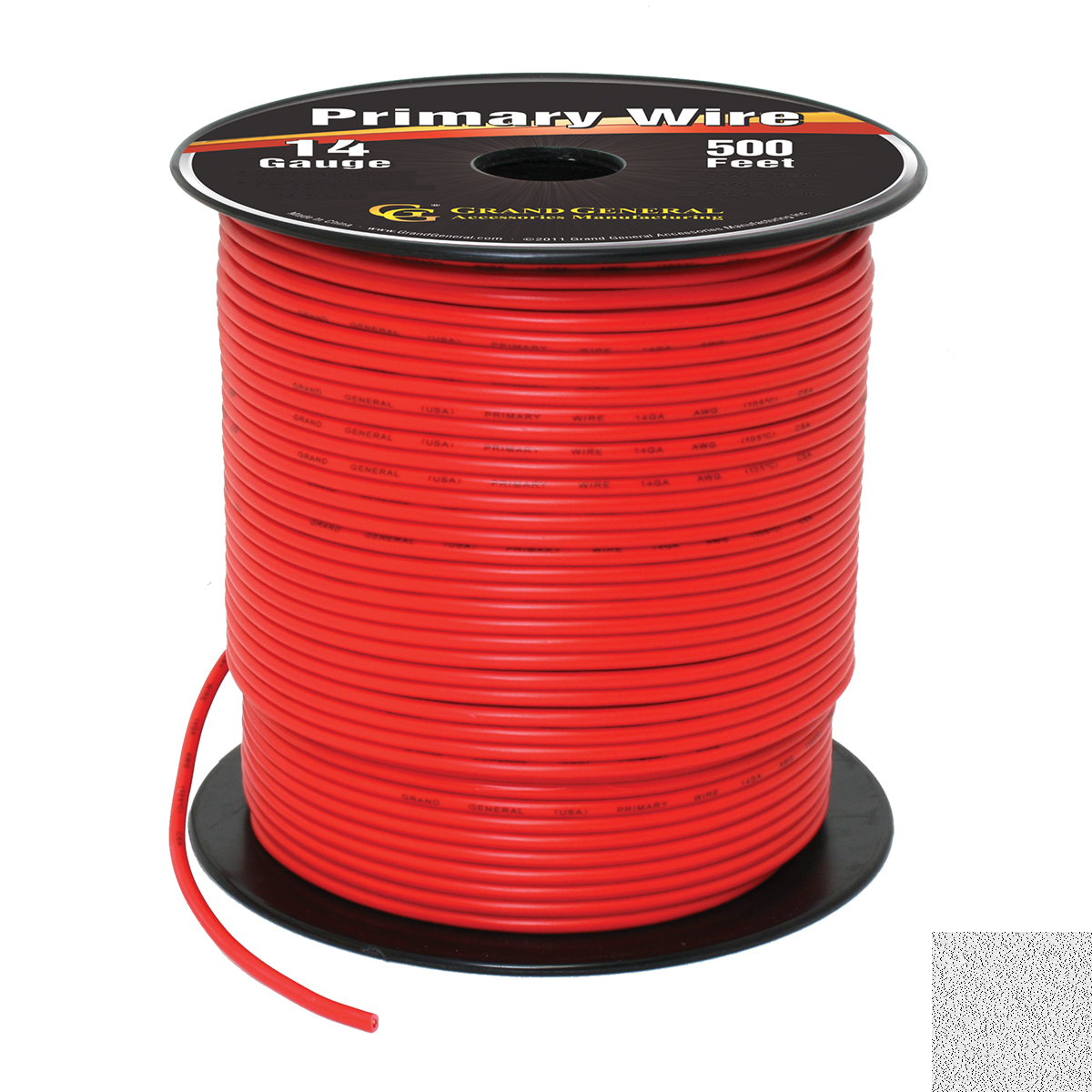 55247 Primary Wire in 14 Gauge, 500 Feet
