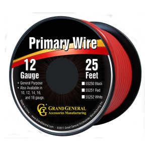 Primary Wires in 12 Gauge