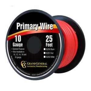 Primary Wires in 10 Gauge