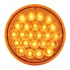 4″ Round Continuous Pearl LED Strobe Light
