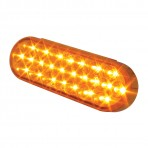Oval Continuous Pearl LED Strobe Light