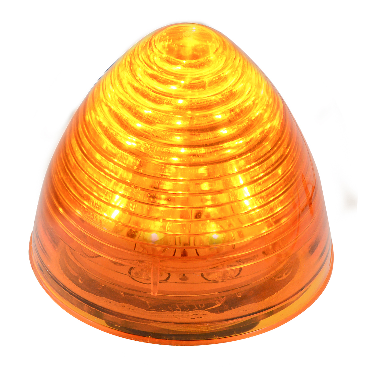 "#79270 2"" LED Beehive Amber/Amber Light"